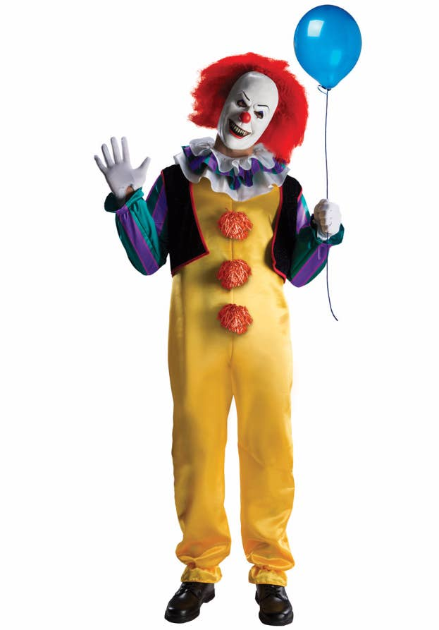 31 halloween costumes that will scare the shit out of your friends 3 pennywise from it solutioingenieria Choice Image