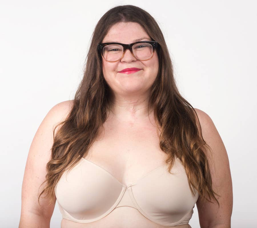Girl with big boobs no bra doing push ups This Is What Push Up Bras Actually Look Like In Different Sizes