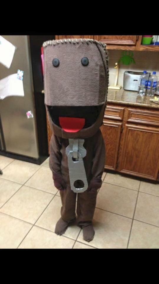 This perfect Little Big Planet costume. & 28 Insanely Clever Halloween Costumes For Your Inner Geek