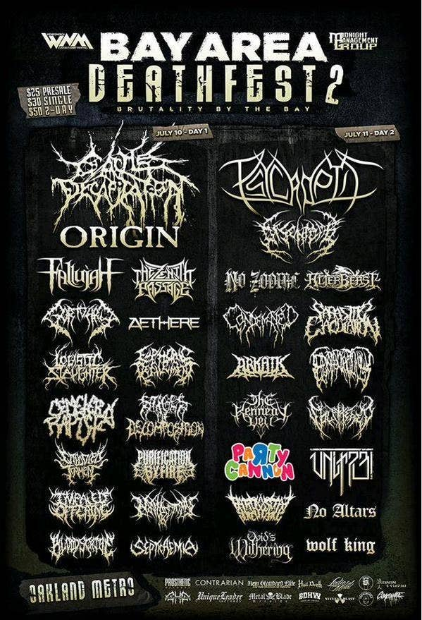 This Death Metal Band Has The Least Death Metal Logo Possible