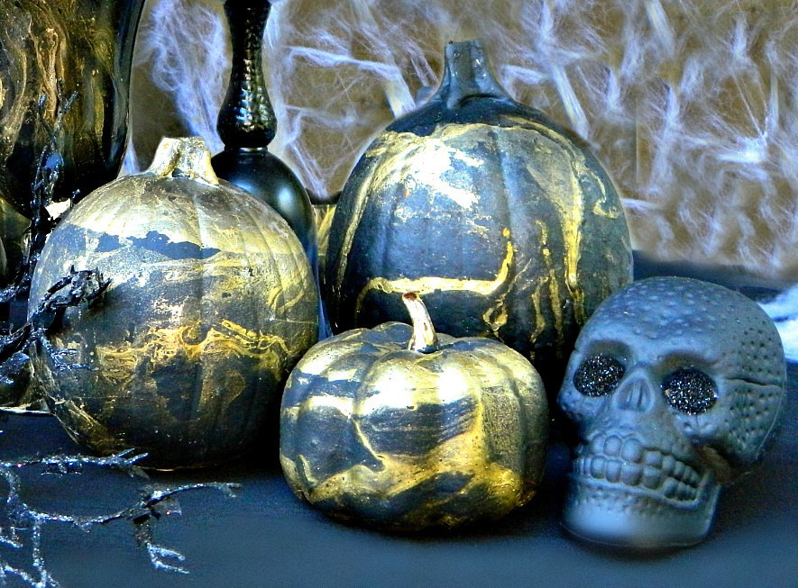 Buzzfeed Halloween Decorations Part - 44: Chic Up Your Halloween Decor This Year With A Little Marble Madness.