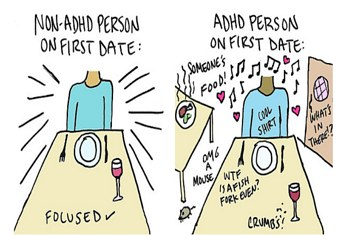 dating person med ADHD