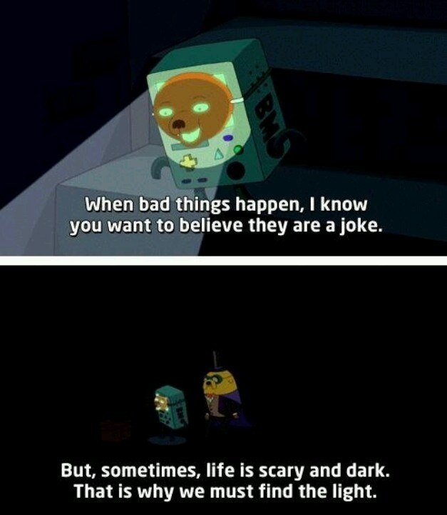 "Bbad Things Happen: 19 Times ""Adventure Time"" Really Wanted To Make You Cry"