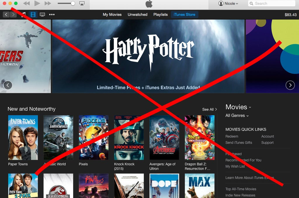 Nope no iTunes allowed.