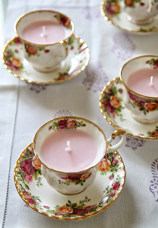 These pretty little teacups.