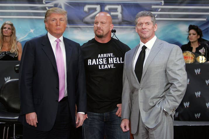 On April 1 2007 At WrestleMania 23 The Battle Of Billionaires Match Took Place Between WWE Owner Vince McMahon And Donald Trump