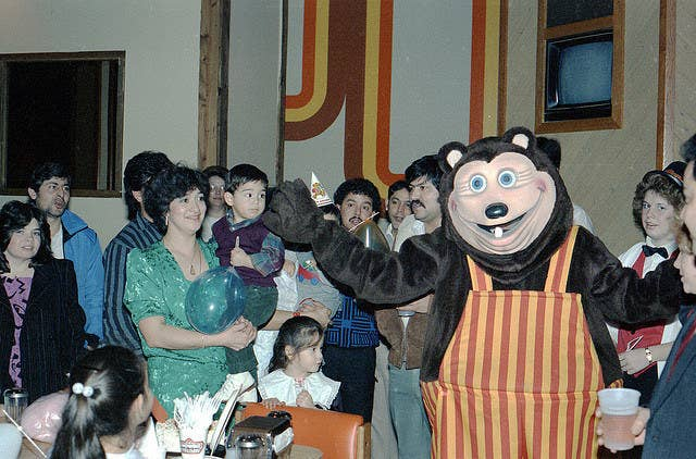 Behold The Most Terrifying Mascot To Ever Exist