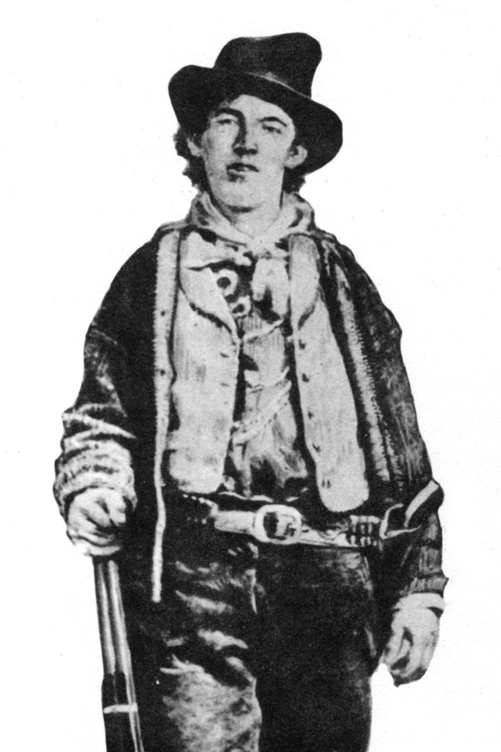 a biography of bill the kid a gunfighter of the old west After this, billy the kid grew into a symbolic figure of the american old west on the run from his enemies and the law, the kid had made a living by stealing horses and cattle, until his arrest.