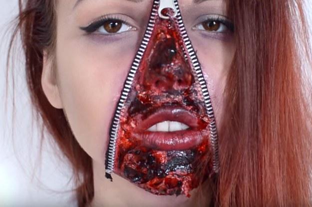 foto de 12 Terroríficos disfraces que puedes hacer con maquillaje