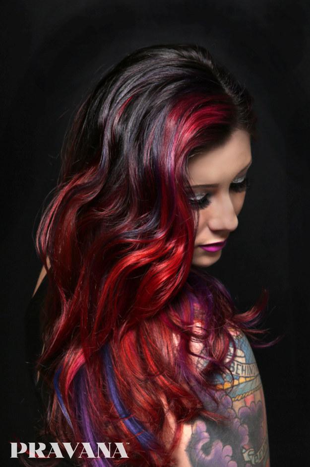 Galaxy Hair Color Buzzfeed