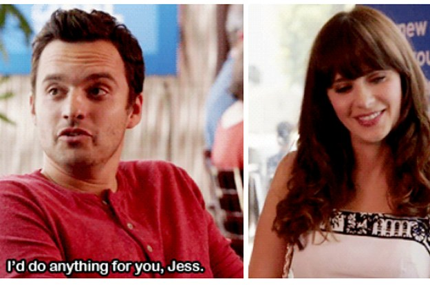 Ah New Girl s Nick and Jess finally kissed SheKnows