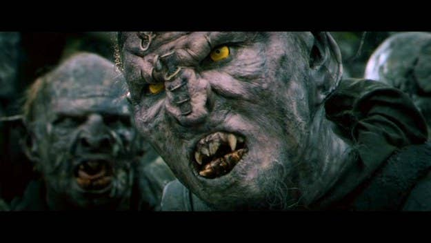 Orc Lord Of The Rings Full Body