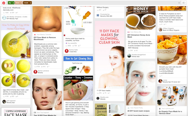 So you turn to Pinterest, and discover a whole world of DIY face masks that you can make for a few dollars or less.