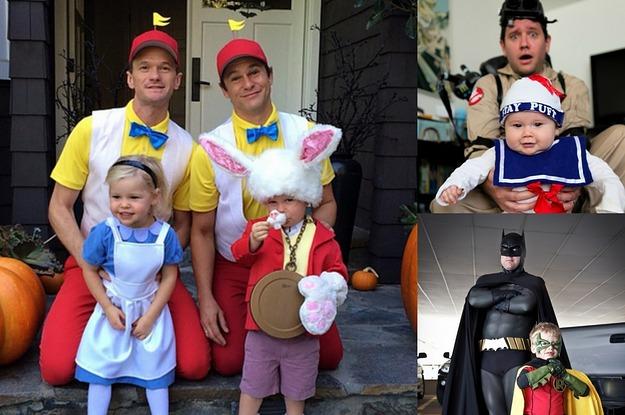 sc 1 st  BuzzFeed & 33 Brilliant Parent And Child Halloween Costume Ideas