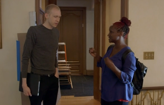 Jason Mann and Effie Brown on Project Greenlight.