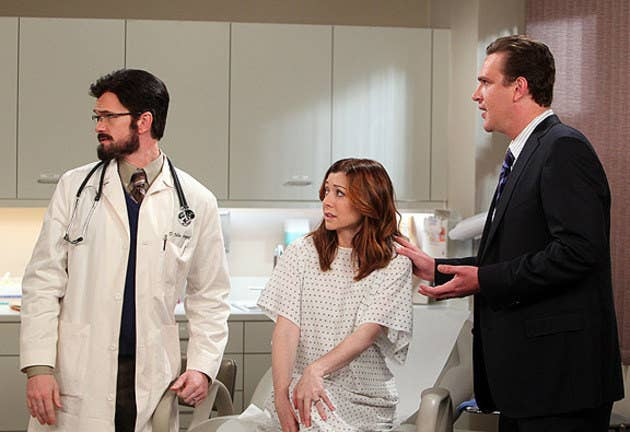 "Season 6 Episode 13 ""Bad News"". Afraid they will never get pregnant, Lily and Marshall decide to see a specialist; Robin begins her new job."