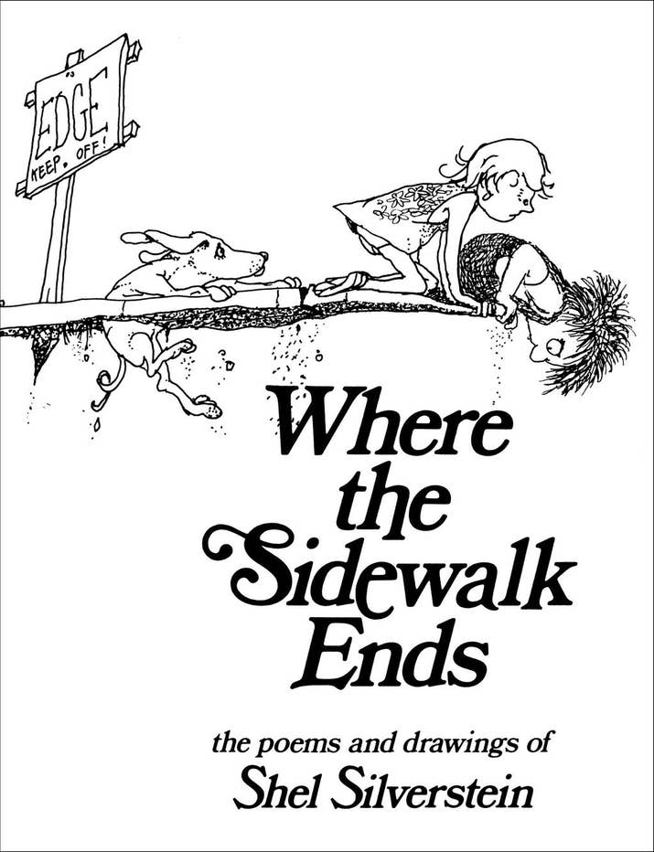 Where The Sidewalk Ends By Shel Silverstein Was A Pleasant And Easy Read For Kids