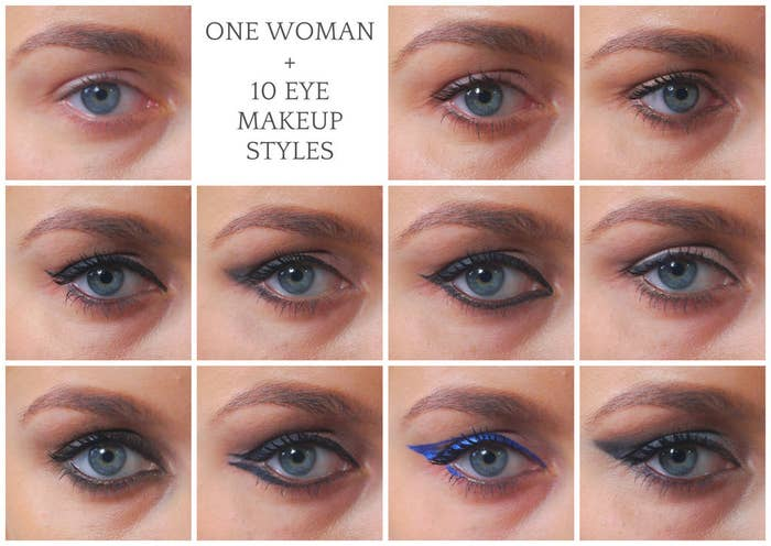 These 10 Basic Eye Makeup Styles Will