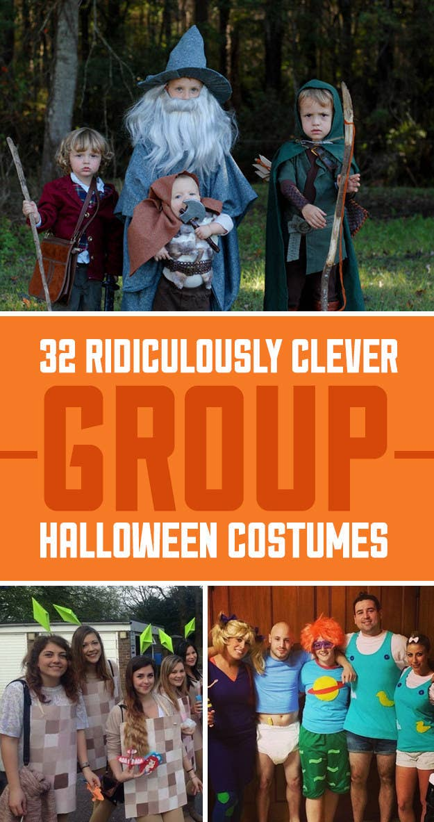 Halloween Ideas For 3 Boys.32 Ridiculously Clever Group Halloween Costumes
