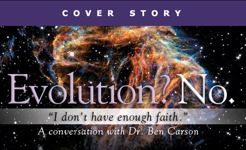 "Ben Carson: If You Accept Evolution, ""You Dismiss Ethics,"" Can't Believe In God And Evolution"