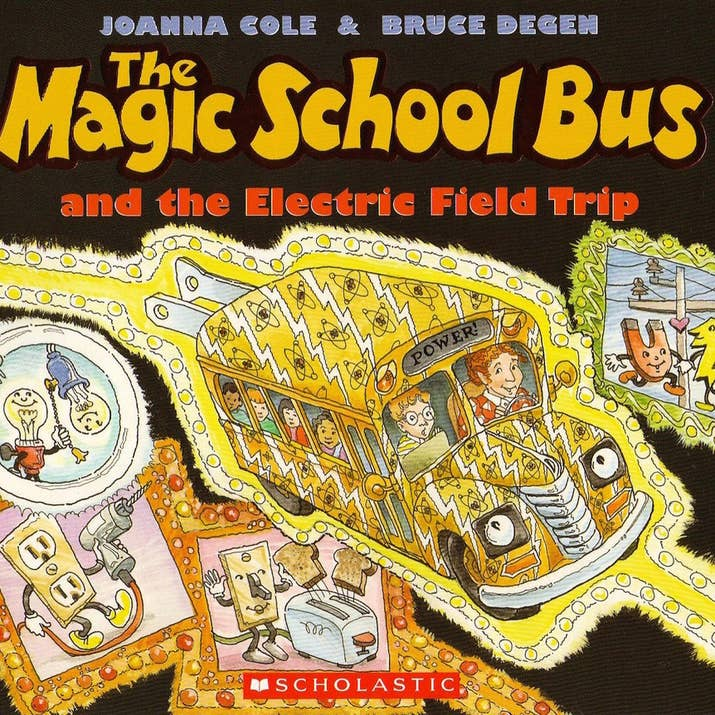 The Magic School Bus Series By Joanna Cole And Bruce Degen