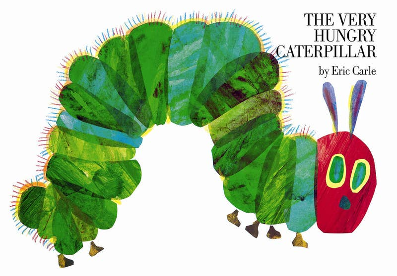 This book was the coolest because the caterpillar actually ate holes through the pages before turning into a beautiful butterfly at the end.