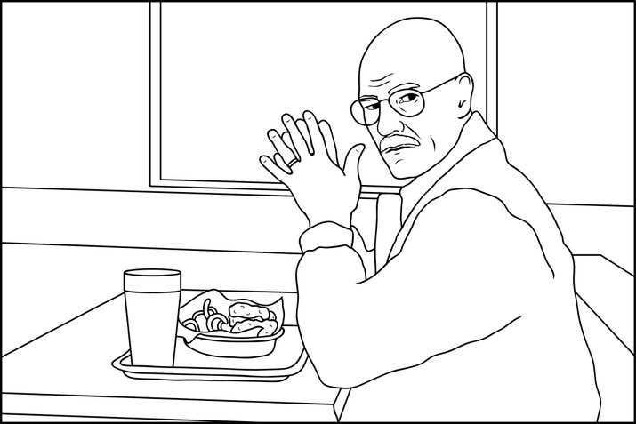 Breaking Bad Cookin Up Some Color Yo A Badass Coloring Activity Book For Grown Ups Is On Sale Now