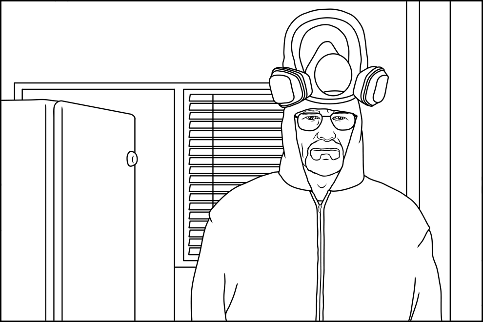 Here S The Coloring Book Every Breaking Bad Fan Needs In Their Life