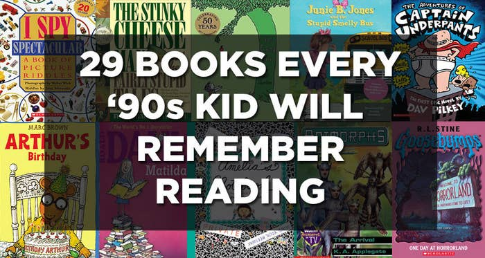 29 Books Every '90s Kid Will Immediately Recognize