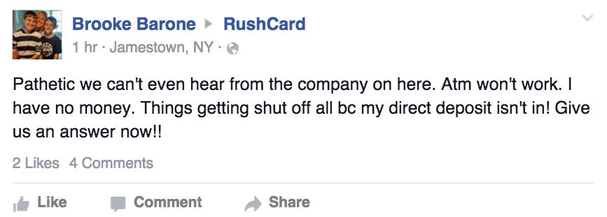 This Baltimore Mom Had To Walk To Work On RushCard's 9th Day Out