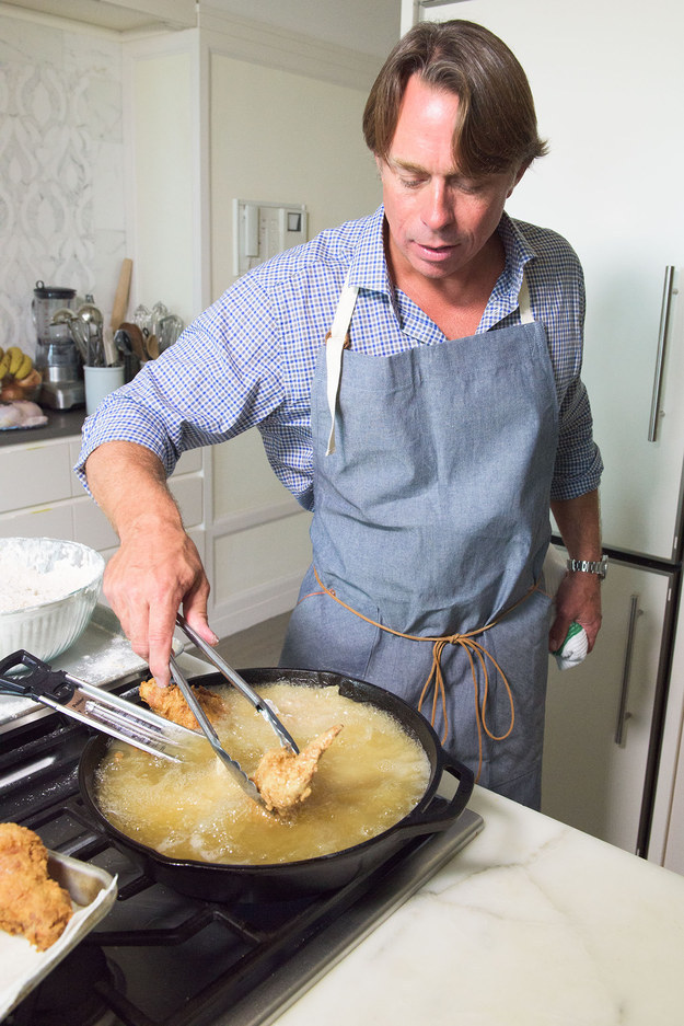 This is John Besh. He's one of the best Southern chefs in America and the one recipe he thinks everybody should learn to cook is his grandmother's fried chicken.