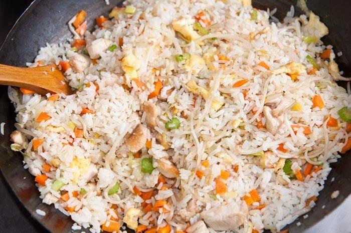 Receta de arroz para 1 persona
