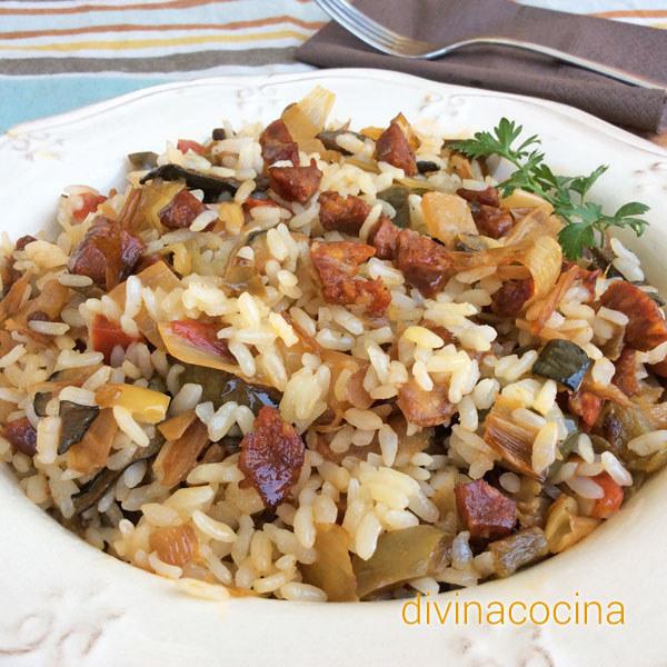 Recetas de comidas especiales con arroz