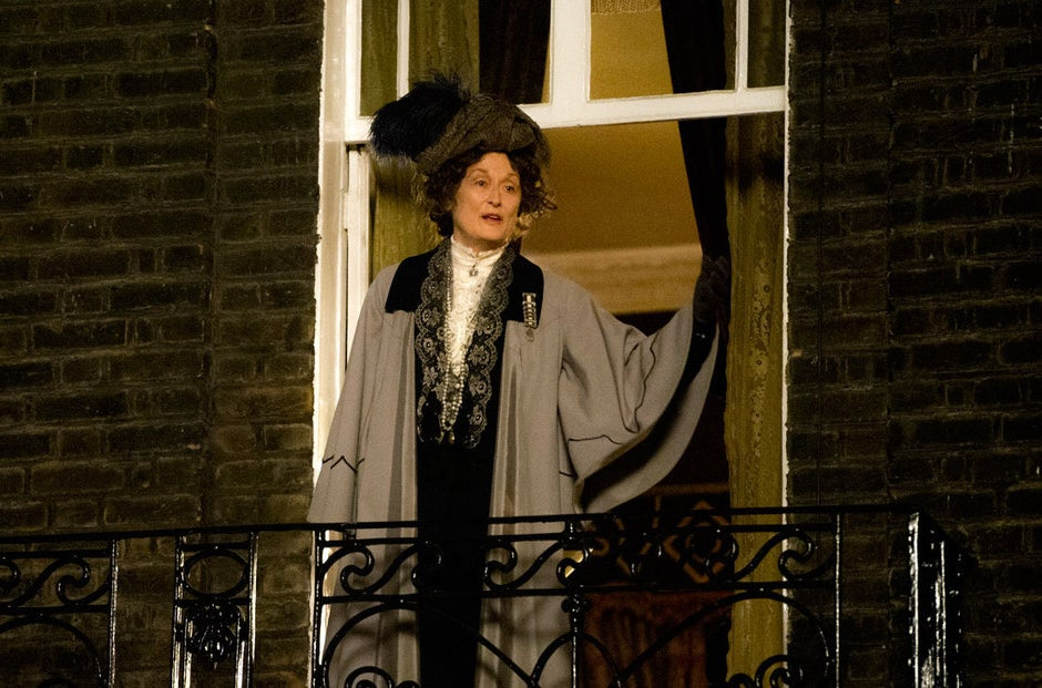 Meryl Streep in Suffragette.