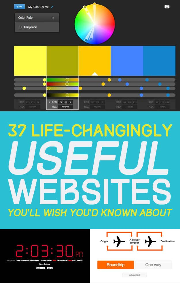 LifeChangingly Useful Websites You Should Know About - 22 incredibly useful websites you needed but didnt know existed thank me later for 10