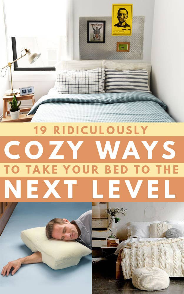 19 tips to make your bed even more cozy