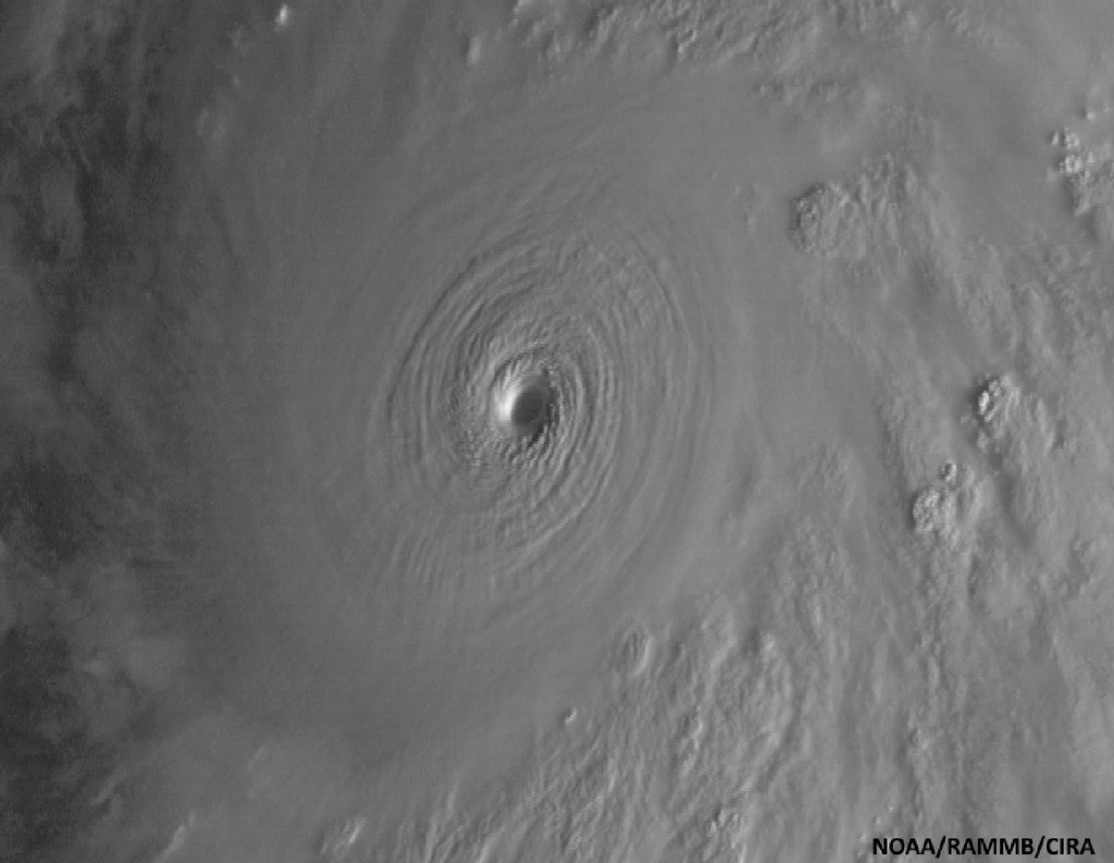 Terrifying, Eerily Beautiful Photos Taken From Space Of Hurricane Patricia