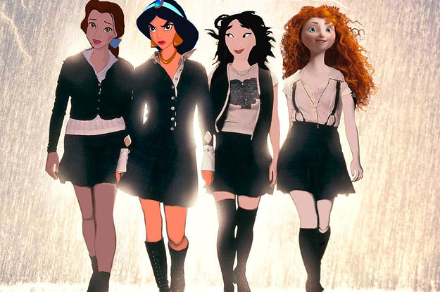 If Classic Horror Movies Starred Disney Princesses