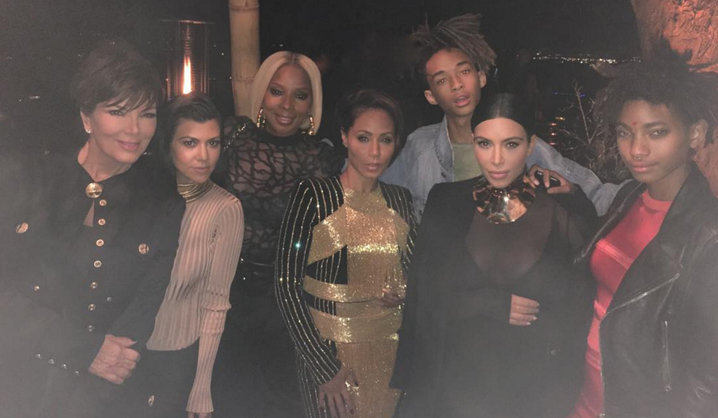 The Smiths, Kardashians, And Mary J. Blige Just Formed An Epic Squad