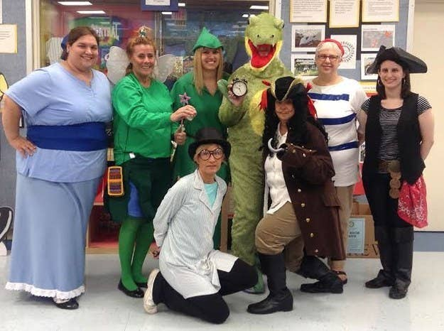 18 Teachers Who Totally Won The Halloween Costume Game