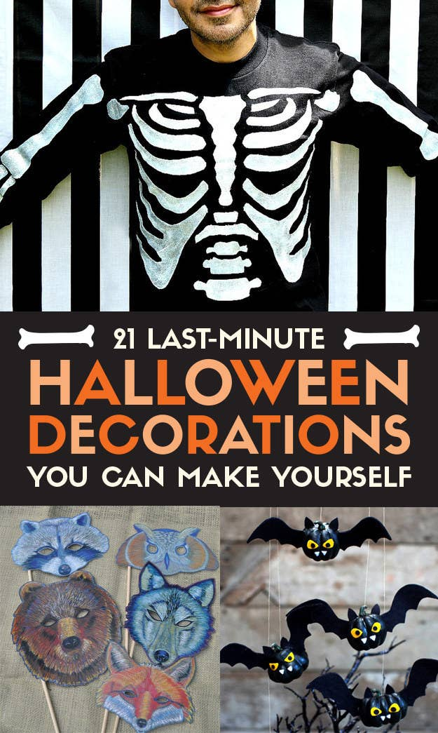 share on facebook share - Last Minute Halloween Decorations