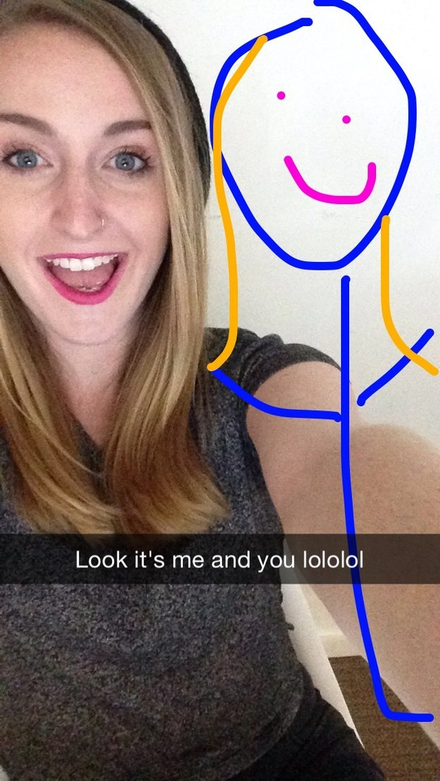 14 Snapchat Girls Only Send To Their Best Friends, This Is So Relatable-2349