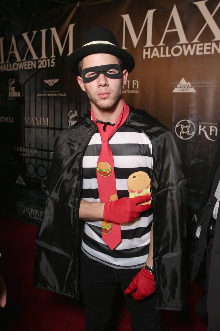 nick jonas - Joe Jonas Halloween