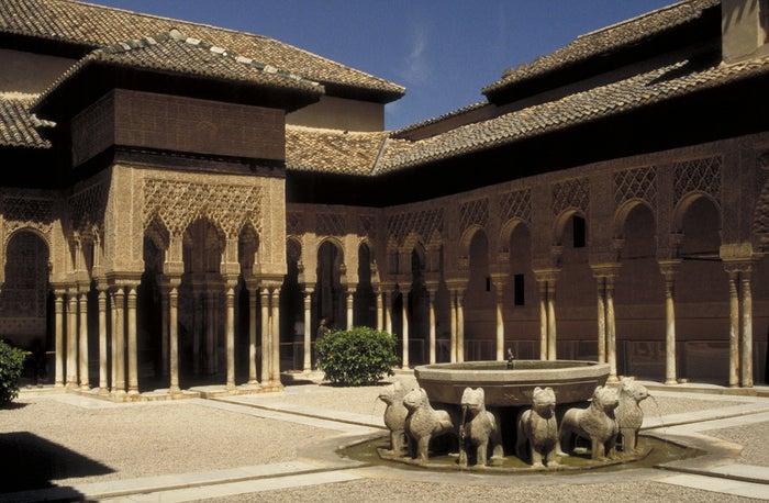 Patio de los leones, Alhambra.