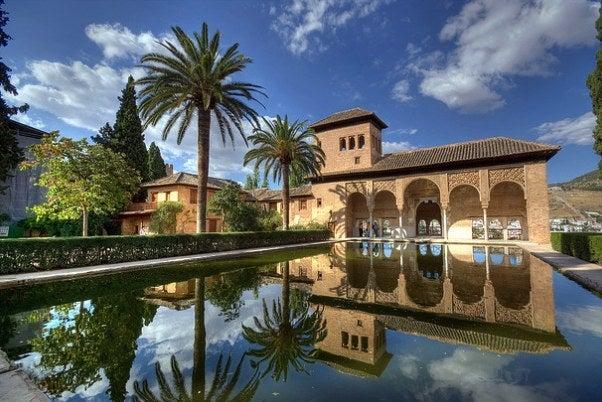 El Partal, Alhambra.