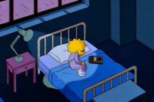 Image result for lisa simpson sad