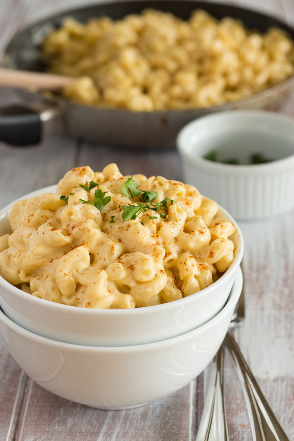 "Super Creamy Mac and ""Cheese"""