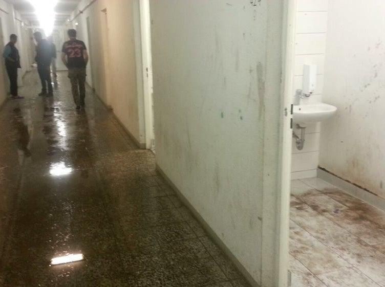 Hallways in building 19