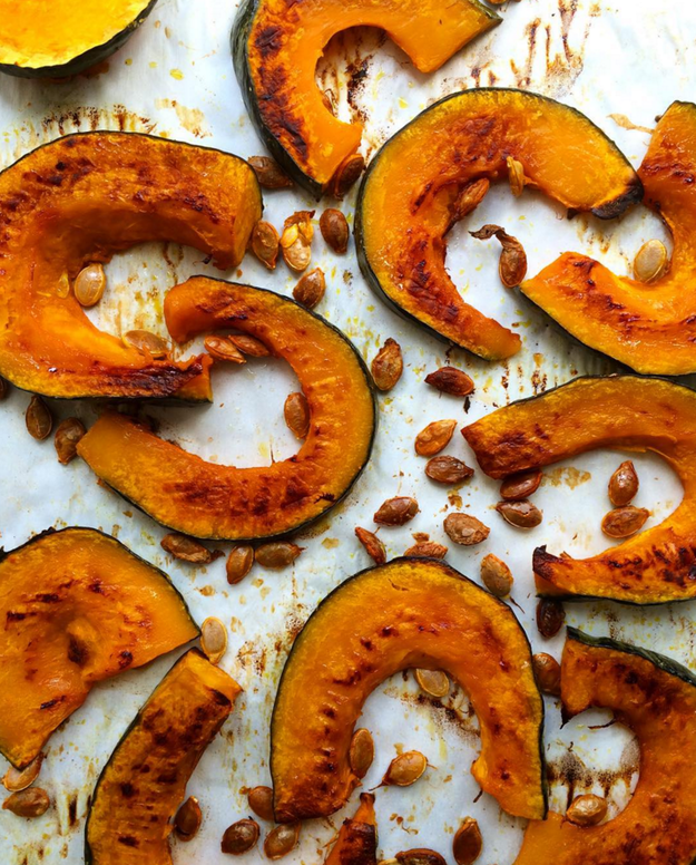 Next time you cook a winter squash, roast the seeds along with the flesh. They're great as a snack, or on salad.
