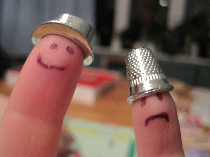 Everyone wants to be the top hat. No one wants to be the thimble. Take this early tension as a sign of what's to come.